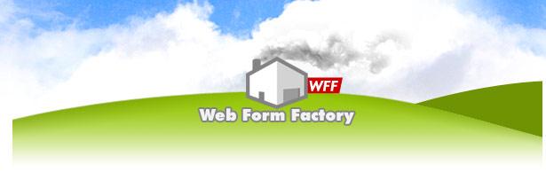 web form factory logo vector Online web form creator